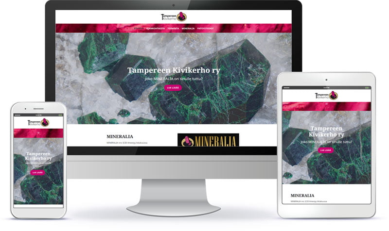 Tampereen Kivikerho WordPress-kotisivut referenssi