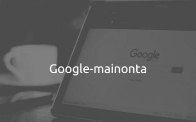Google-mainonta eli hakusanamainonta